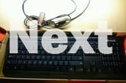 New Ergonomic Microsoft Wired 600 Keyboard with Media