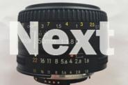 NIKKOR Lens - AF Nikkor 50mm f1.8D