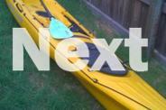 Ocean Kayak Prowler Elite 4.5 Yellow with paddle