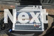 Peavey 12 channel 1200 watt pa with sub woofer