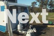 Pop top Caravan-- beaut little caravan with pop