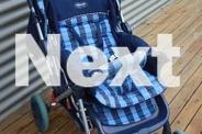 Pram/Stroller Blue