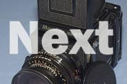Professional medium format camera Mamiya RB67