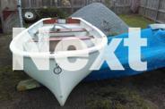 Purdon dinghy 12ft fibreglass