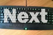 Razer Anansi Expert MMO Gaming Keyboard *EXCELLENT