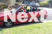 Red VW Volkswagen Golf Soft Top / Convertible