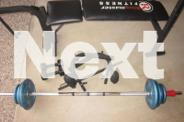 RING MASTER EXERCISE FITNESS MACHINE + LIFTING BAR +