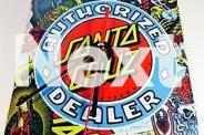 SANTA CRUZ SKATEBOARD AUTHORIZED DEALER DECK