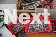 Stainless nut bolts screws.................