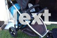Strider plus with toddler seat