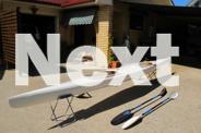 TK2 2 Man racing kayak plus 2x carbon fiber wing