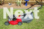Troy bilt lawn mower in Immaculate as new condition