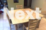 White Washed Matching Table, Chairs, TV Cabinet and