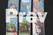 17 Childrens Assorted Videos - Buy separately $2ea or