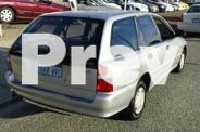 1997 Mitsubishi Lancer CE Glxi Silver 3 Speed Automatic