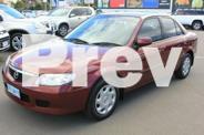 2003 Mazda 323 Burgundy Manual Hatchback