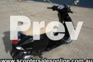 2005 Vespa LX 125 Black