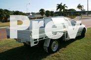 2006 Ford Falcon BF XL Super Cab White 4 Speed Sports