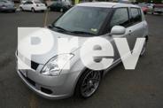 2006 Suzuki Swift Silver 5 Speed Manual Hatchback