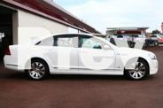 2011 Holden Caprice WM II V White 6 Speed Automatic
