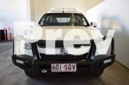 2012 Holden Colorado RG LX (4X4) White 6 Speed