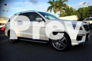 2012 Mercedes-Benz ML63 W166 AMG SPEEDSHIFT DCT White 7