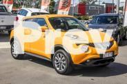 2015 Nissan Juke F15 Series 2 ST X-tronic 2WD Yellow 1