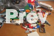 2kg mixed Lego & 2 base plates & bionicles Tower of Toa