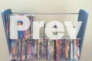 6 Shelf DVD/CD Rack Stand