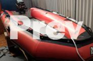 Achilles SG-124 3.80mt inflatable boat