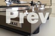 AKAI AP-100C TURNTABLE
