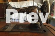 Antique Bebarfald Vickers and Jones Sewing machines