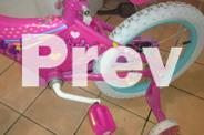 barbie bike and barbie helmet