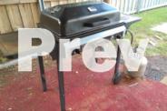 BBQ - Calypso 4 burner, grill, flat plate, hood as is