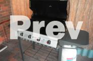 BBQ, Gas Bottle and Cover - Good Condition