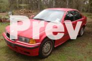 BMW 318i red