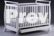 Brand New 3in1 Wooden Baby Cot Crib Toddler Bed &