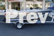 BRAND NEW ALUVAN RAZOR 4.1 BOAT, TRAILER & TOHATSU