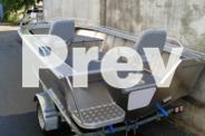 BRAND NEW STESSCO CATCHER SF410 BOAT, TRAILER, TOHATSU
