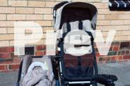 Bugaboo Cameleon with attachable Maxicosi carseat