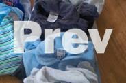 Bulk Baby boy 0-3 months clothing & portable sleeper