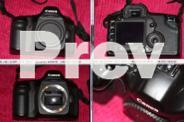 Canon EOS 5D + lens, battery grip, memory, bag + more