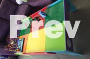 Children Activity table for Lego, Train set, Puzzles