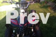 Childrens Petrol Quad Bike
