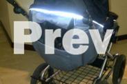 Emmaljunga Pram- VG condition Black and grey colours