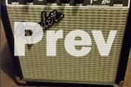 Fender Squier Stratocaster Guitar with a Fender Amp