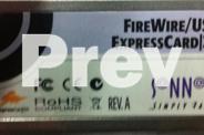 Firewire / USB Express card / 34