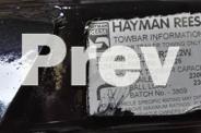 FORD TERRITORY HEAVY DUTY Hayman Reese Towbar 2300kg