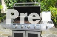 Gasmate 4 Burner BBQ with Frypan/Wok Burner