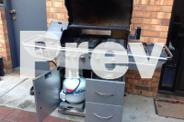 Gasmate six burner Barbecue